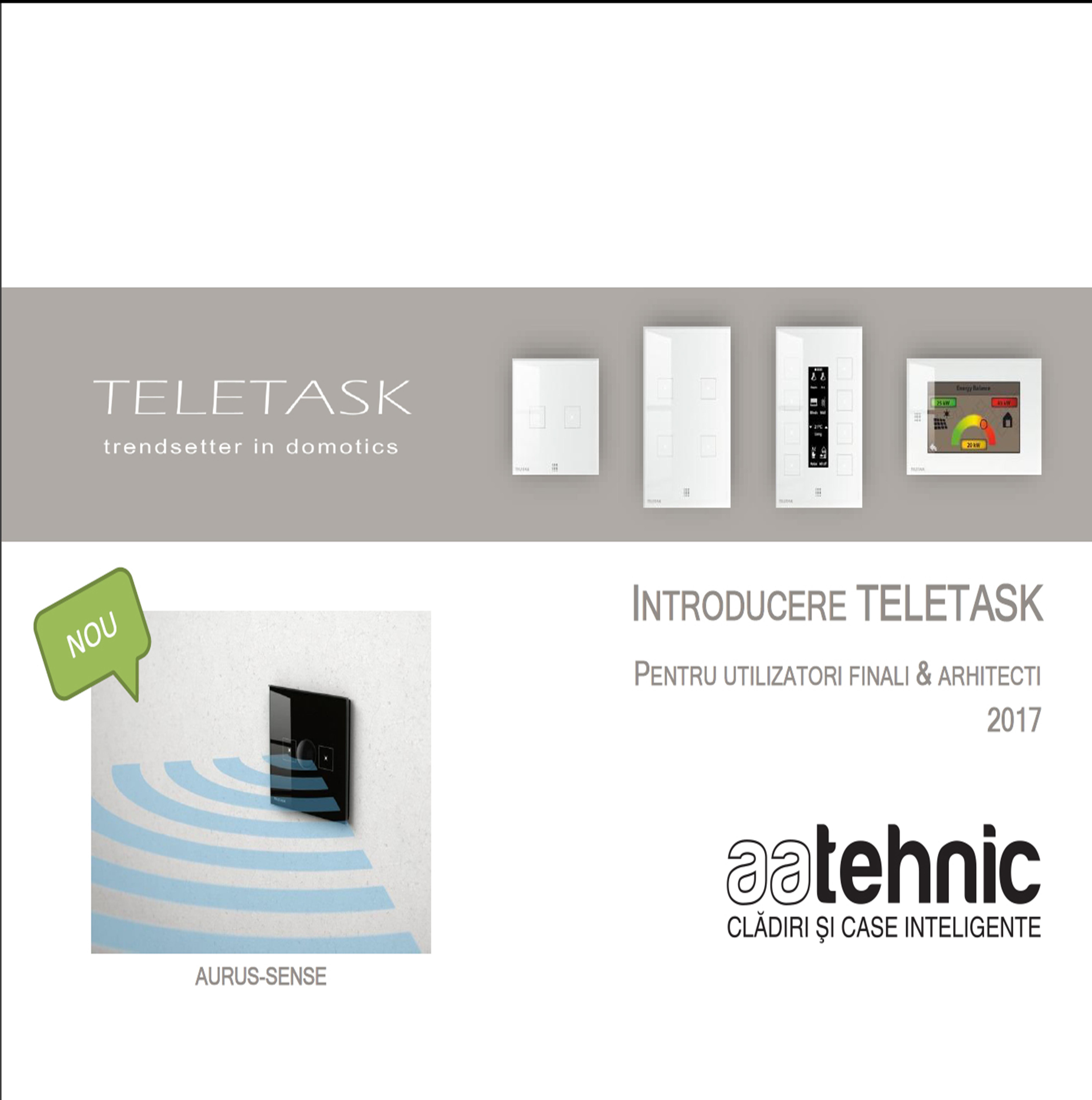 Sisteme de automatizari Teletask implementate de AA Tehnic, sisteme de securitate craiova, Automatizari Teletask si AA Tehnic, Teletask Romania